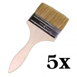 4 inch application brush wide painting brush natural fibre