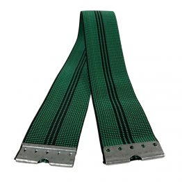 upholstery webbing with clips